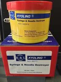 Syringe & Needle Destroyer - Plastic