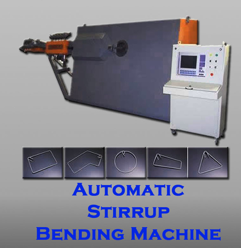 Automatic Stirrup Bending Machine
