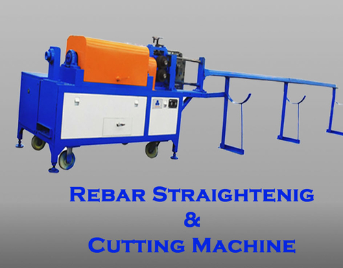 Rebar Striaghtening & Cutting Machine