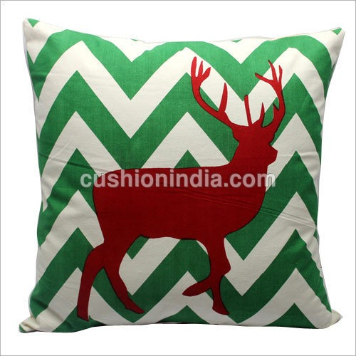 MOOSE Art Cotton Cushion Cover