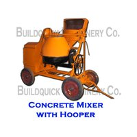 Concrete Mixer With Hooper