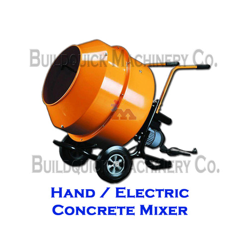Hand/Electric Concrete Mixer
