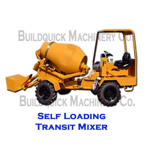 Self Loading Transit Mixer
