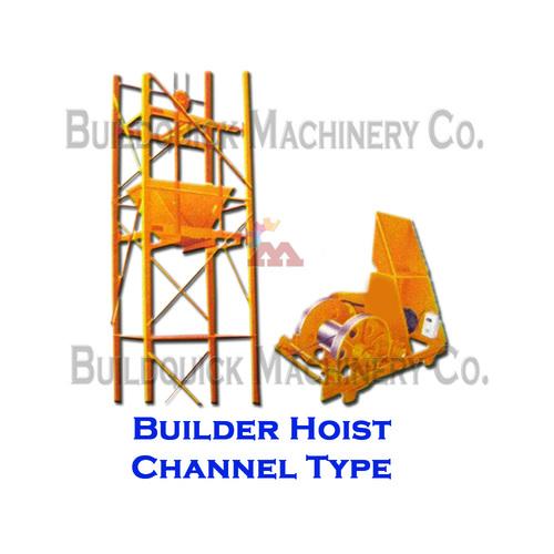 Builder Hoist Channel Type