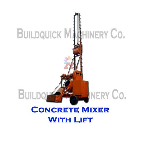 Concrete Mixer With Lift