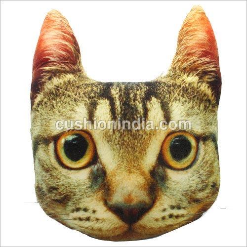 Cushion  Soft  Toys - CAT  FACE  THEME