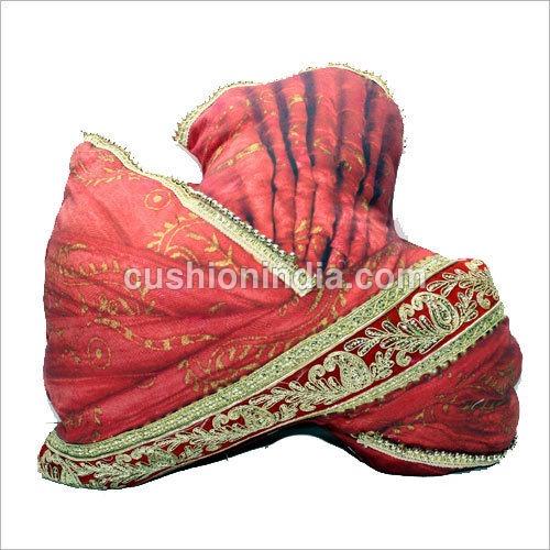Stuffed  Indian  Bridegroom Head Decor - stuffed