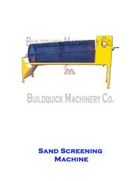 Sand Screening machine