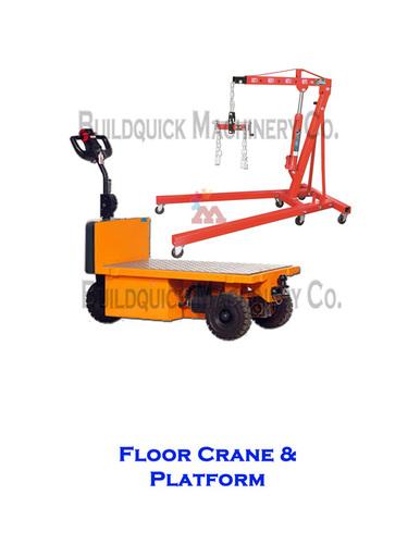 Floor Crane & Platform