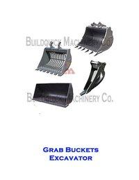 Grab Bucket Excavator