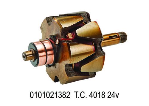 28 SY 1382 0101021382 Rotor T.C.- 4018 24V