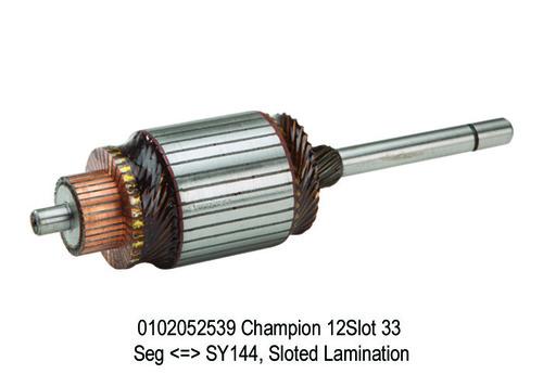 308 SY 2539 Champion = SY144, Sloted Lamination