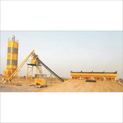 Four Bin Inline Concrete Batching Plant