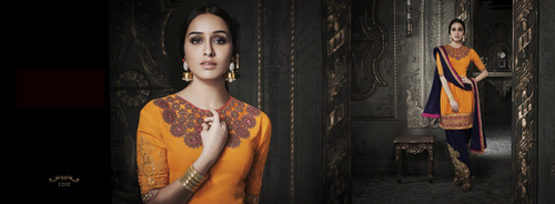 Yellow stylish salwar kameez