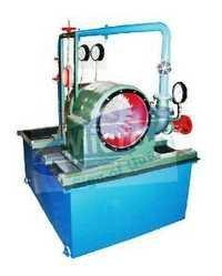 PELTON WHEEL TURBINE TEST RIG CAPACITY 1HP (A.C motor)