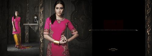 Pink stylish salwar suit