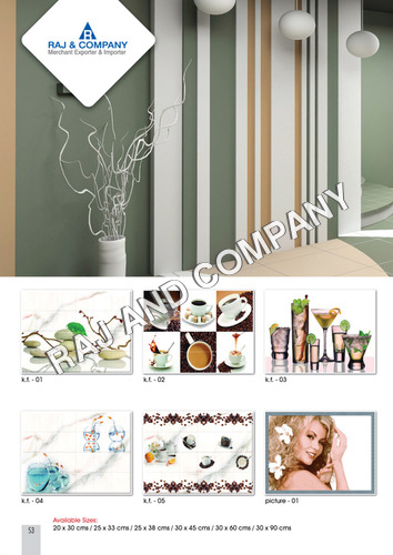Digital Decorative Wall Tiles