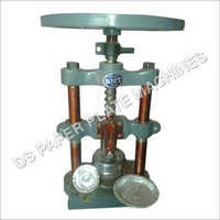 Manual Hand Press Paper Plate Machine