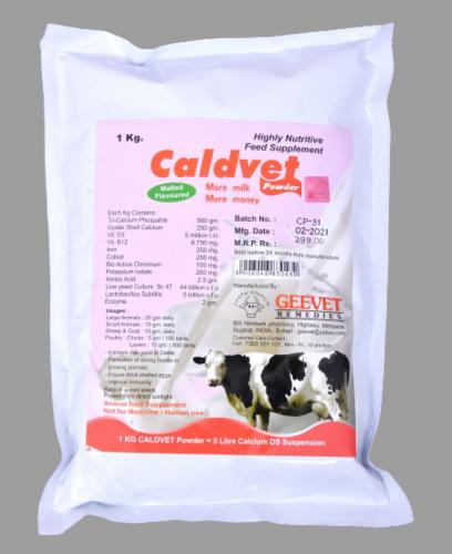 Veterinary Calcium Mineral Powder