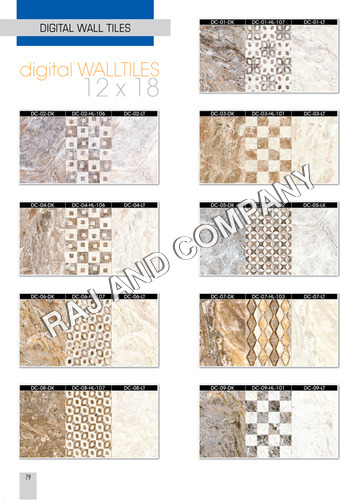 Digital Exterior Wall Tiles