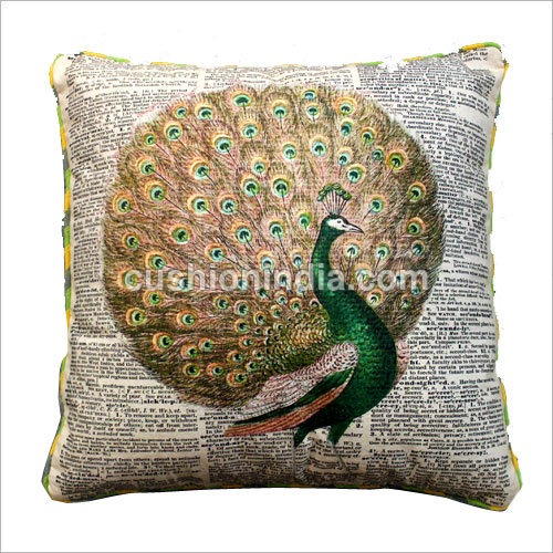 Cushion  News Paper Art