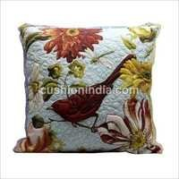 Custom Image Printed Quilted Cotton Cushion Cover