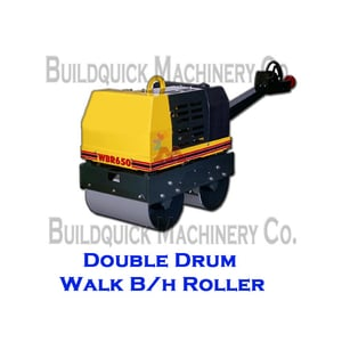 DOuble Drum Walk Roller