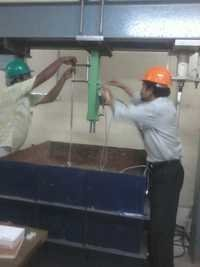 Static Soil Testing Machine