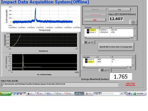 Data acquisition System Software