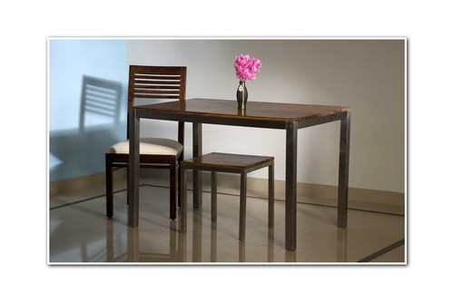 Wooden Dining Table With 1 Chair
