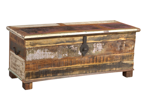 Recycled Wooden Trunk