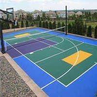 Multipurpose Hall Sports Court Flooring