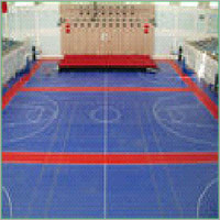 Vinyl Rubber Sports Flooring