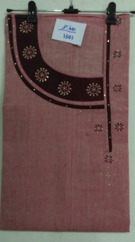 Cotton Side Neck Print