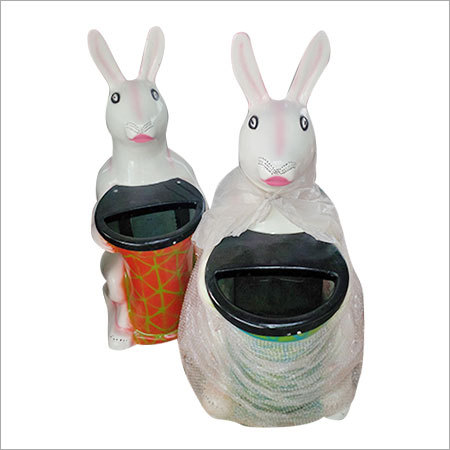 FRP Rabbit Dustbin