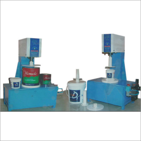 Semi Pneumatic Bucket Lid Pressing Machine