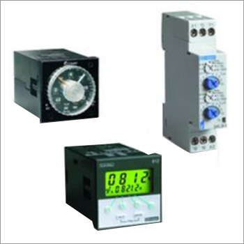 Panel mounted Electronic Timers
