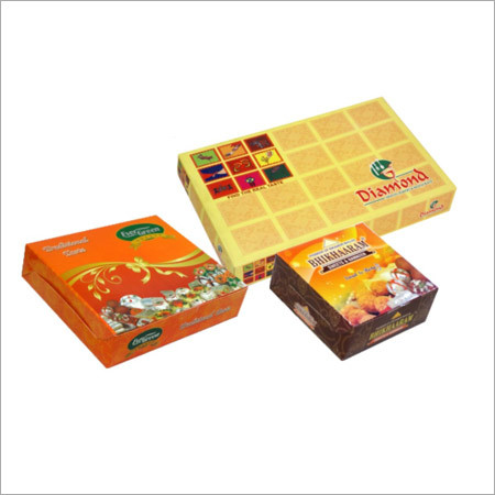 Printed Sweets Boxes