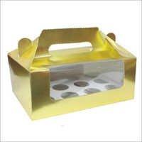 Handle Cupcake Box