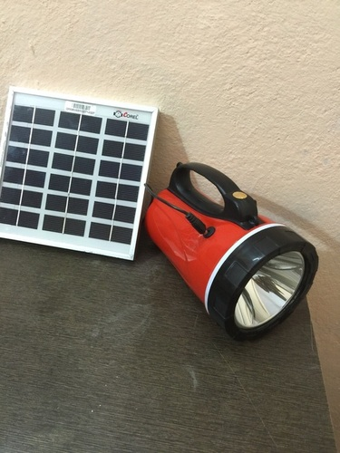 Rechargeable Solar Led Torch 6 volt -4.5 Ah