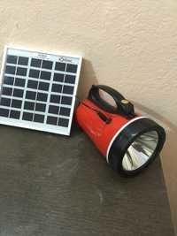 Rechargeable Solar Led Torch 6 Volt -4.5 Ah