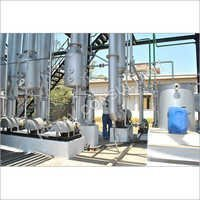 Product Concentration Evaporator Plant