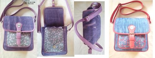 Blue Cross Body Handbag