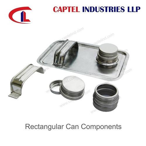 4 Ltr - 5 Ltr Rectangular Can Components
