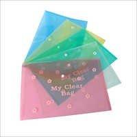 MY CLEAR BAG (FLOWER PRINT)