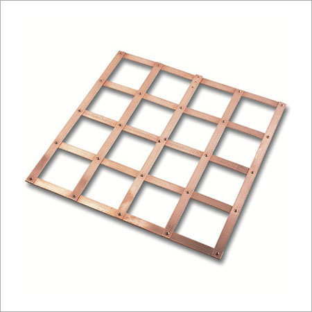 Earth Plate Lattice Copper