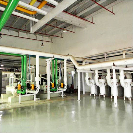 Cooling Water System Erection