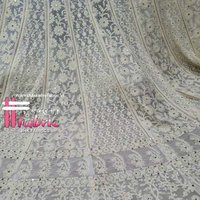 Crochet Embroidered Fabric