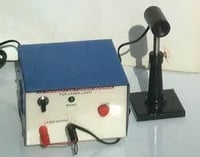 Red Diode Laser with Power Supply