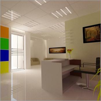 Office Reception Area Designing